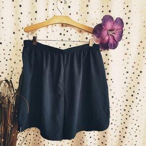 Reebok blue 2 in 1 running shorts sz xl